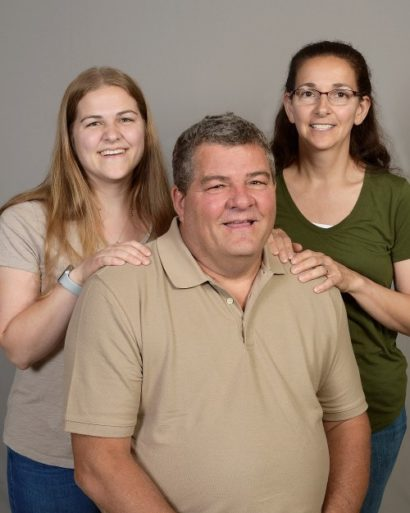 Kip Nelson and family